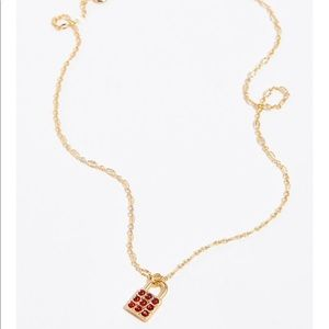 Free people Tiny pendant necklace